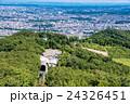 北海道 札幌 藻岩山ロープウェイの写真 24326451