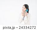 ビジネスウーマン(スマートフォン) 24334272