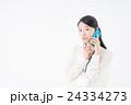 ビジネスウーマン(スマートフォン) 24334273