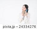 ビジネスウーマン(スマートフォン) 24334276