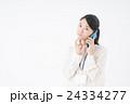 ビジネスウーマン(スマートフォン) 24334277