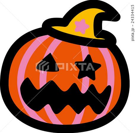 ハロウィン かぼちゃおばけのイラスト素材 24334415 Pixta