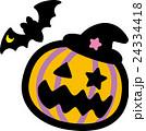 ハロウィン かぼちゃ コウモリ おばけ 24334418