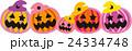 ハロウィン ジャック・オー・ランタン ジャックオランタンのイラスト 24334748