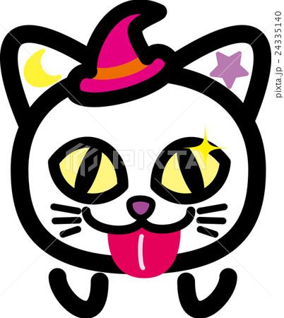 ハロウィン 猫 舌べー おばけのイラスト素材 24335140 Pixta
