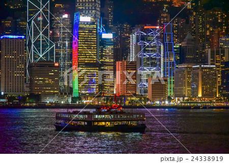 九龍半島から望む香港の夜景 24338919