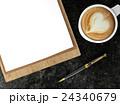 コーヒー ペン ふでのイラスト 24340679