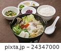 鍋料理 鍋 豆乳鍋の写真 24347000