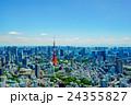 【東京都】東京タワーと街並み 24355827