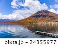栃木県日光市 男体山と中禅寺湖 10月 24355977