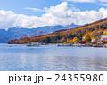 栃木県日光市 男体山と中禅寺湖 10月 24355980