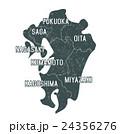 原_日本地図_カラー 24356276