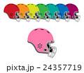 アメフトのヘルメット 24357719