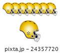 アメフトのヘルメット 24357720