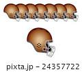 アメフトのヘルメット 24357722