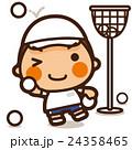 小学生 男子 運動会のイラスト 24358465