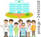 病院 患者 医師のイラスト 24363208