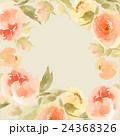 フローラル お花 フラワーのイラスト 24368326