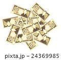 紙幣 一万円札 お金のイラスト 24369985