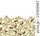 紙幣 お金 一万円札のイラスト 24369987