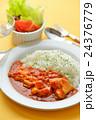 バターチキンカレー(インド料理)。 24376779