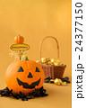 ハロウィン カボチャ お菓子 籠 お化けカボチャ ハロウィーン 24377150