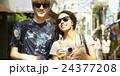 外国人 カップル 訪日の写真 24377208