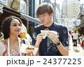 谷根千を観光する外国人旅行客 24377225