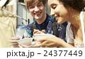 外国人 カップル 旅行の写真 24377449