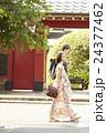 谷根千を観光する外国人旅行客 24377462
