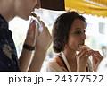 谷根千観光する外国人 煎餅屋 24377522
