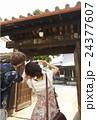 外国人 カップル 観光客の写真 24377607