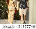 外国人 カップル 観光客の写真 24377740