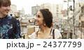 外国人 カップル 旅行者の写真 24377799