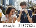 谷根千を観光する外国人旅行客 24377821