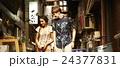 谷根千を観光する外国人旅行客 24377831