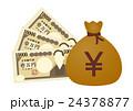 お金と袋 24378877
