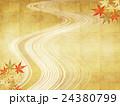 背景素材 楓 紅葉のイラスト 24380799