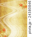 背景素材 楓 紅葉のイラスト 24380846