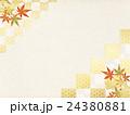 背景素材 楓 紅葉のイラスト 24380881