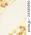 背景素材 楓 紅葉のイラスト 24380890