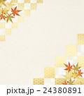 背景素材 楓 紅葉のイラスト 24380891