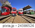 市電 静態保存 美濃駅の写真 24386526