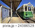 市電 静態保存 美濃駅の写真 24386529