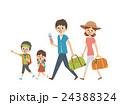 家族 旅行【シンプルキャラ・シリーズ】 24388324