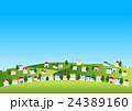 ベクター 風景 町並みのイラスト 24389160