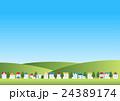 ベクター 風景 町並みのイラスト 24389174