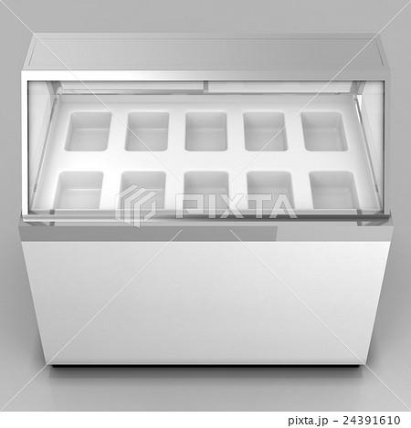 冷凍ケースのイラスト素材 [24391610] - PIXTA