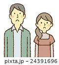 カップル 若い 夫婦のイラスト 24391696