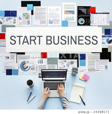 Start Business Aspirations Mission Opportunity Conceptの写真素材 [24398571] - PIXTA
